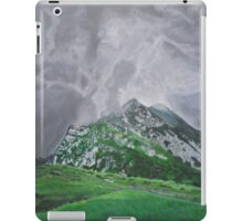 Mountain Landscape Acrylic Painting iPad Case/Skin