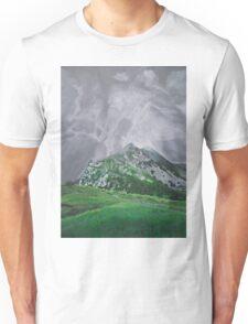 Mountain Landscape Acrylic Painting Unisex T-Shirt