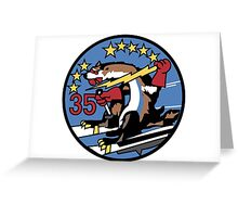 Wild Weasels - Cadet Squadron 35 Greeting Card