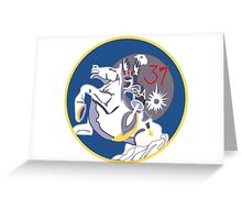 Animalistic Skyraiders - Cadet Squadron 37 Greeting Card