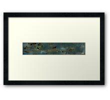 Volcanic Landmasses 1 Framed Print