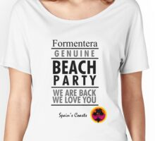 Formentera Beach Women's Relaxed Fit T-Shirt