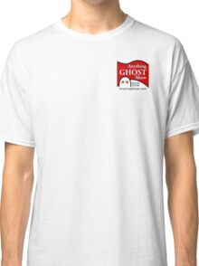 Anything Ghost Black and Red Logo Classic T-Shirt