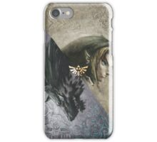 Link and wolf iPhone Case/Skin