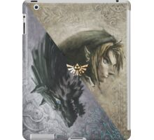 Link and wolf iPad Case/Skin