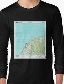 USGS TOPO Map Hawaii HI Napili 349621 1997 24000 Long Sleeve T-Shirt