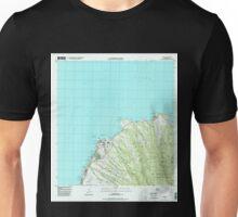 USGS TOPO Map Hawaii HI Napili 349621 1997 24000 Unisex T-Shirt