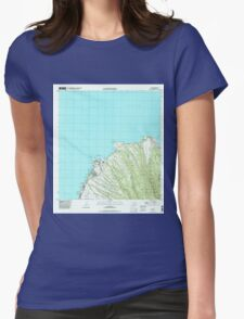 USGS TOPO Map Hawaii HI Napili 349621 1997 24000 Womens Fitted T-Shirt
