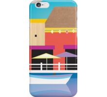 Cozumel, Mexico - Skyline Illustration by Loose Petals iPhone Case/Skin