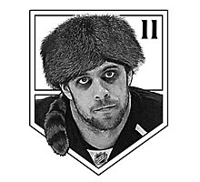 Coonskin Anze Kopitar Tee - LA Kings (two-color design) Photographic Print