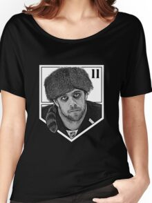 Coonskin Anze Kopitar Tee - LA Kings (two-color design) Women's Relaxed Fit T-Shirt