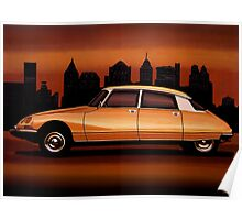 Citroen DS Painting Poster