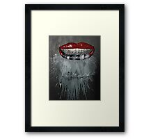 Up in Smoke (Mixed Media) Framed Print