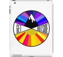 Get Outside   Mountain & Sun iPad Case/Skin
