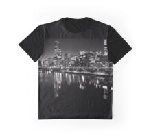 Melbourne City views from Southbank Graphic T-Shirt
