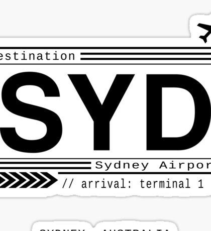 Sydney Airport Sticker