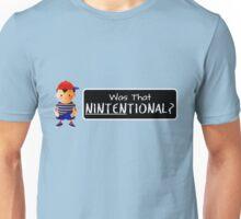 Was that Ninten-tional? Unisex T-Shirt