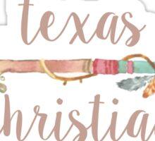 Texas Christian University Arrow Sticker