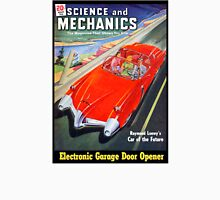 Science and Mechanics Magazine Cover August 1950 (PD) Unisex T-Shirt