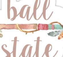 Ball State Arrow Sticker