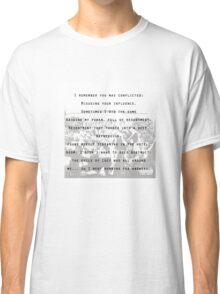 kendrick lamar tpab full poem Classic T-Shirt