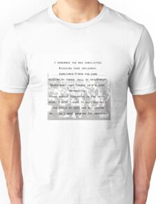 kendrick lamar tpab full poem Unisex T-Shirt