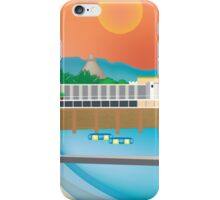 Jamaica - Skyline Illustration by Loose Petals iPhone Case/Skin