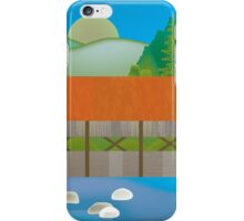 New Hampshire - Skyline Illustration by Loose Petals iPhone Case/Skin