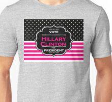 pink hillary clinton Unisex T-Shirt
