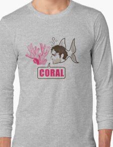 Coral - Rick Grimes Long Sleeve T-Shirt