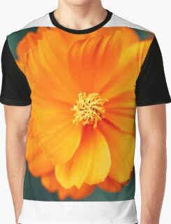 Flower V Graphic T-Shirt