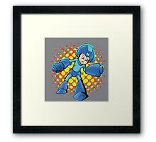 Mega Man In A Mega Jam Framed Print
