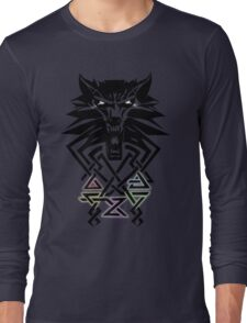 The Witcher - Big Witcher Medallion Long Sleeve T-Shirt