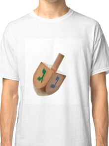 Hanukkah Dreidel Symbol Isolated Classic T-Shirt