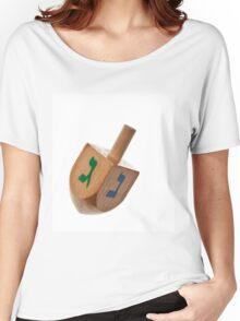 Hanukkah Dreidel Symbol Isolated Women's Relaxed Fit T-Shirt