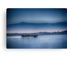 going fast....Lake Elsinore, SoCal Canvas Print