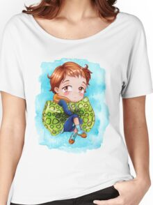 Seven Deadly Sins Anime - KING chibi 2 Women's Relaxed Fit T-Shirt