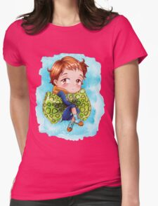 Seven Deadly Sins Anime - KING chibi 2 Womens Fitted T-Shirt