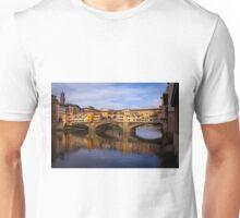 Vecchio Bridge Florence Unisex T-Shirt