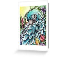 'Jungle Beauty'- Onyx Art Studios Greeting Card