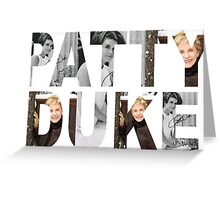 patty duke Greeting Card