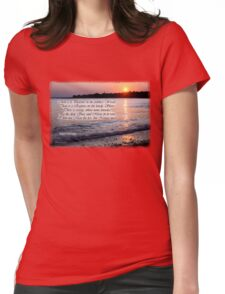 A Fragment from Lord Byron Womens Fitted T-Shirt