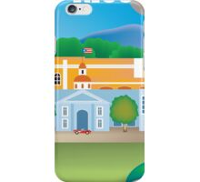 Puerto Rico - Skyline Illustration by Loose Petals iPhone Case/Skin