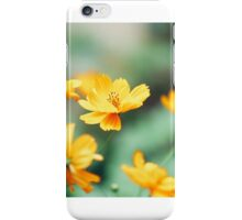 Cosmos in the wind iPhone Case/Skin