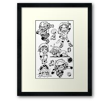derby chibi Framed Print