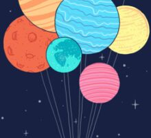 Space balloons Sticker