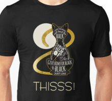 Hocus Pocus Cat Spell - Just. Like. This! Unisex T-Shirt