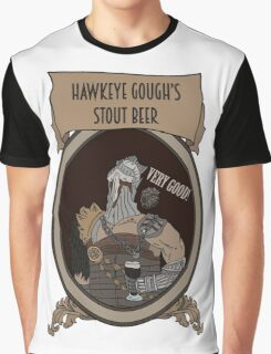 Beer Souls - Hawkeye Gough's Stout  Graphic T-Shirt