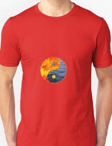 Fire Water Ying Yang T-Shirt