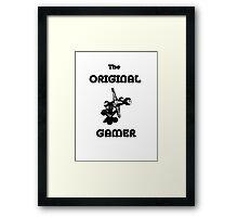 The Original Gamer II Framed Print